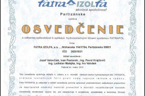 izolfa-certifikat
