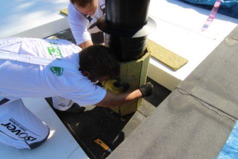 3 tepelna izolacia strechy a nehorlava izolacia okolo komina
